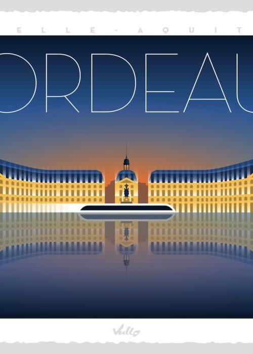 Affiche Bordeaux
