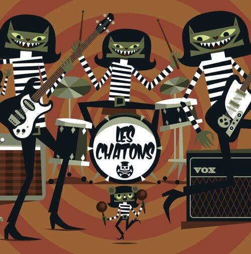 Chat...Rage-band postcard