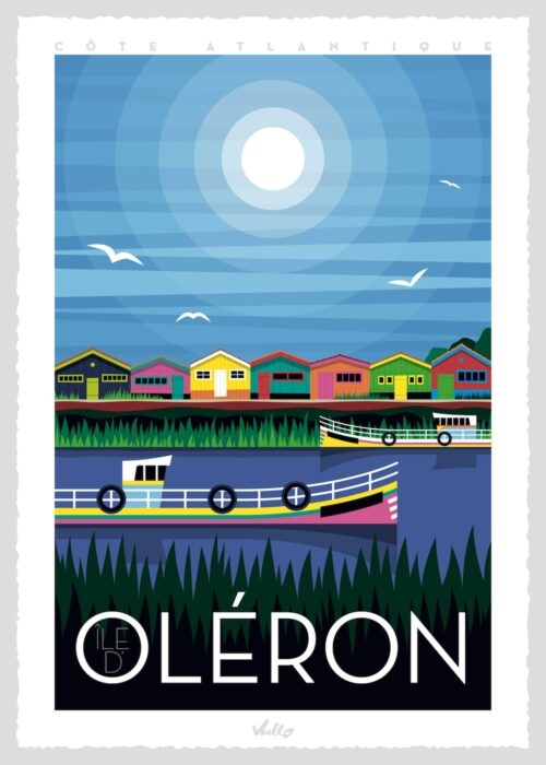 Affiche Ile d'Oléron