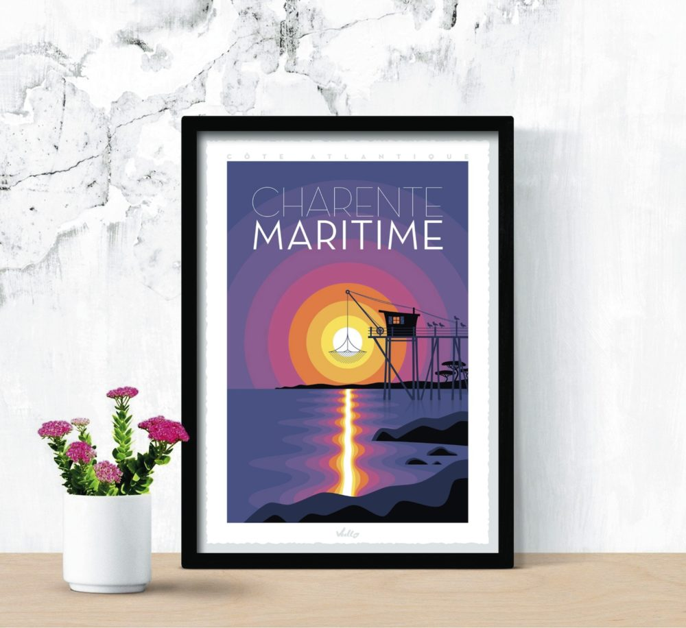 Affiche Charente Maritime en situation