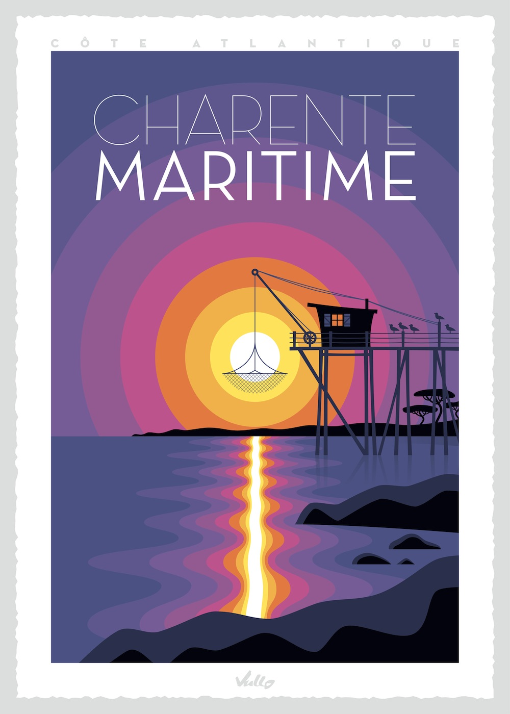 Charente Maritime poster