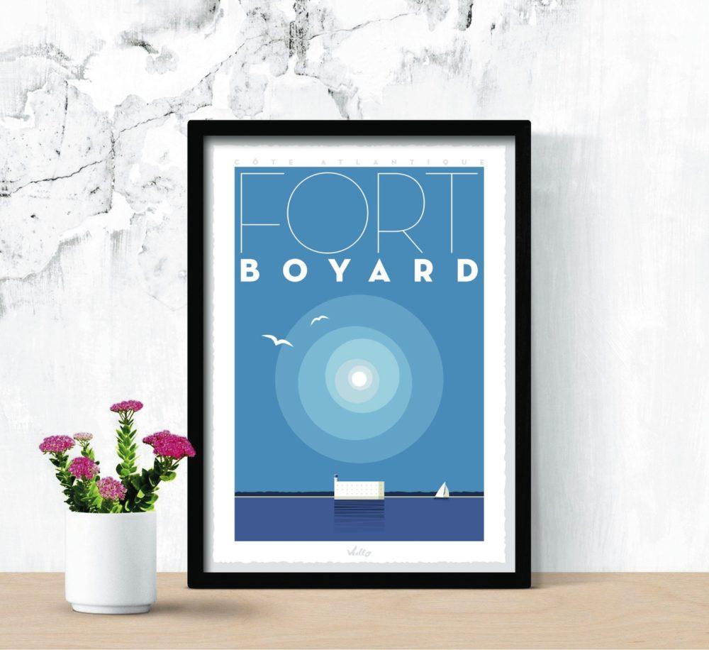 Affiche Fort Boyard en situation