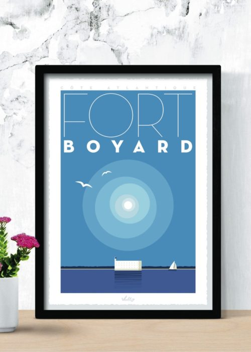Affiche Fort Boyard en situation
