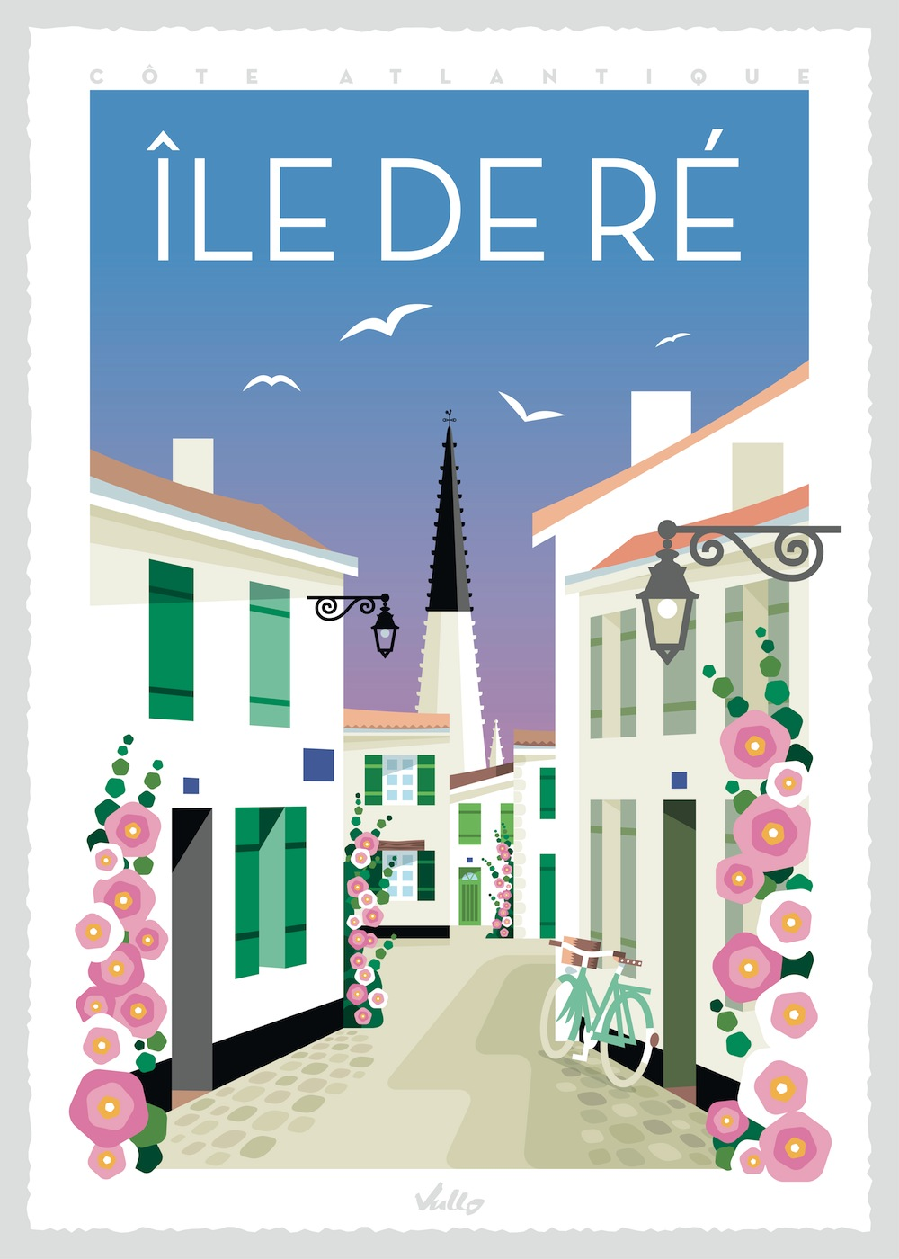 Affiche Île de Ré