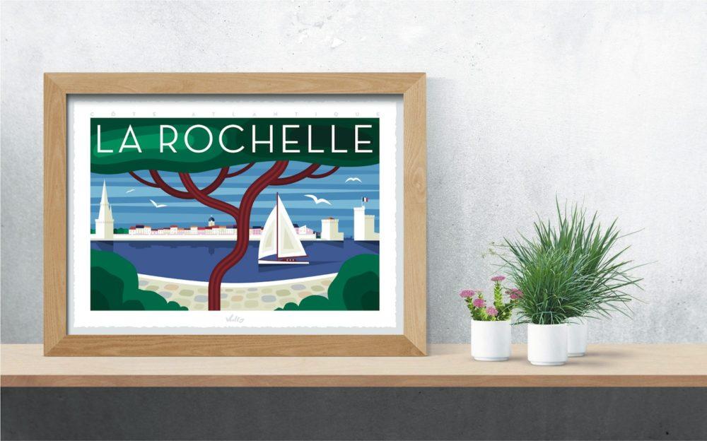 Affiche La Rochelle 2 en situation