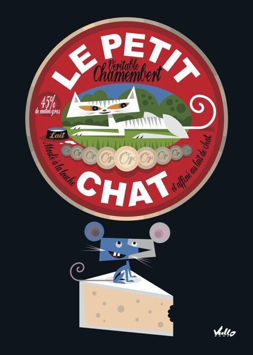 Chat...Membert postcard
