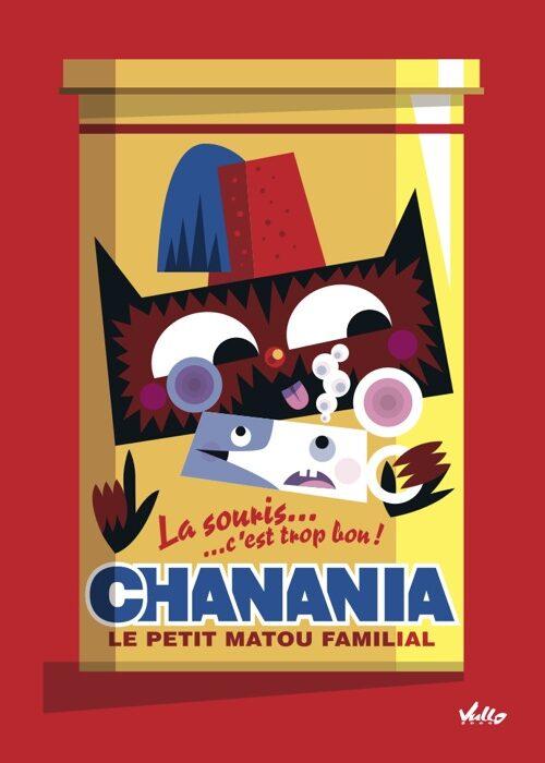Chat...Nania postcard