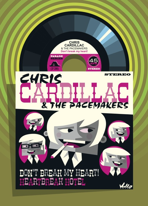 Carte postale Chris Cardillac