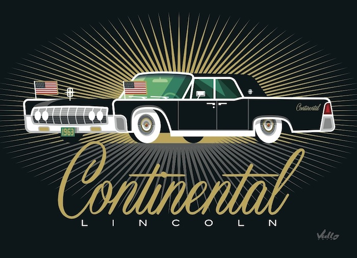 Carte postale Continental