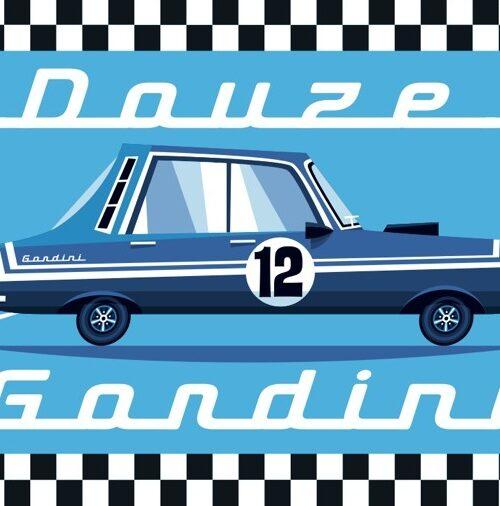 Carte postale Douze Gordini