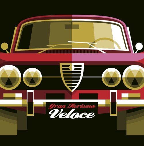 Carte postale Gran Turismo Veloce
