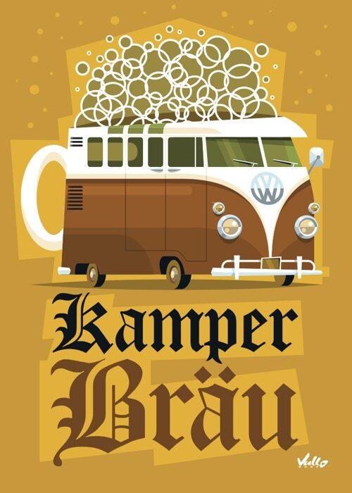 Carte postale Kamperbrau