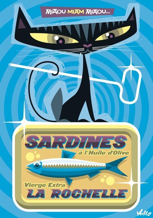 Carte postale La Boite À Chardines