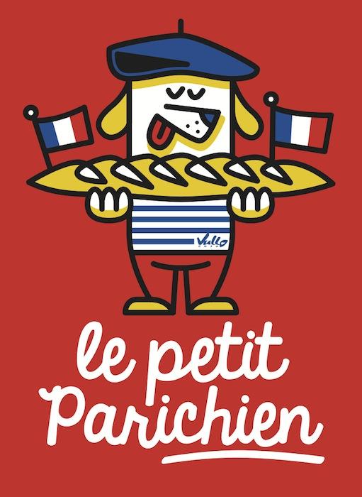 Carte postale Le Petit Parichien