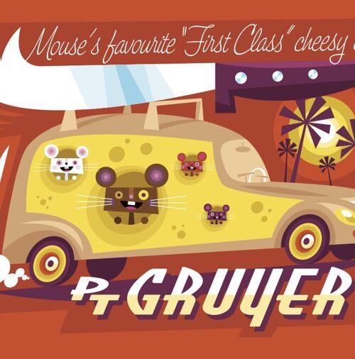 PT Gruyer postcard