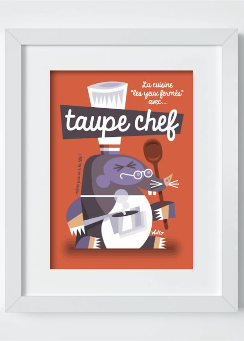 taupe chef cadre