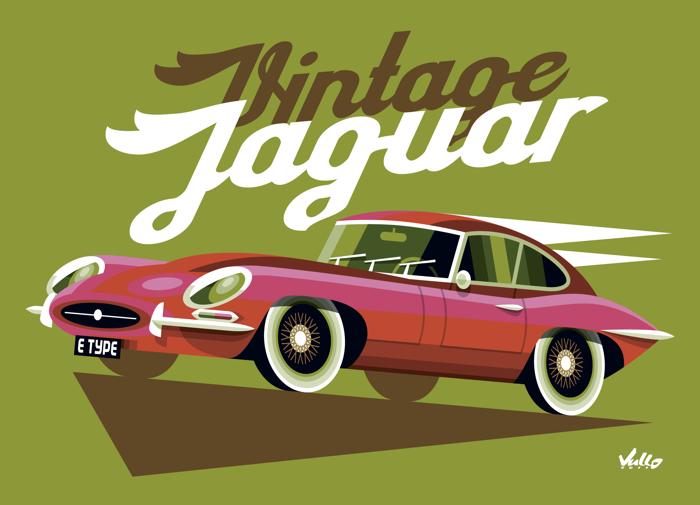 Carte postale Vintage Volkswagen