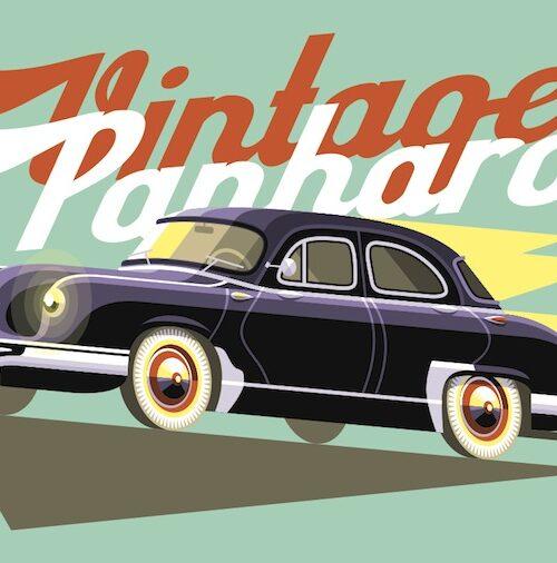 Carte postale Vintage Panhard