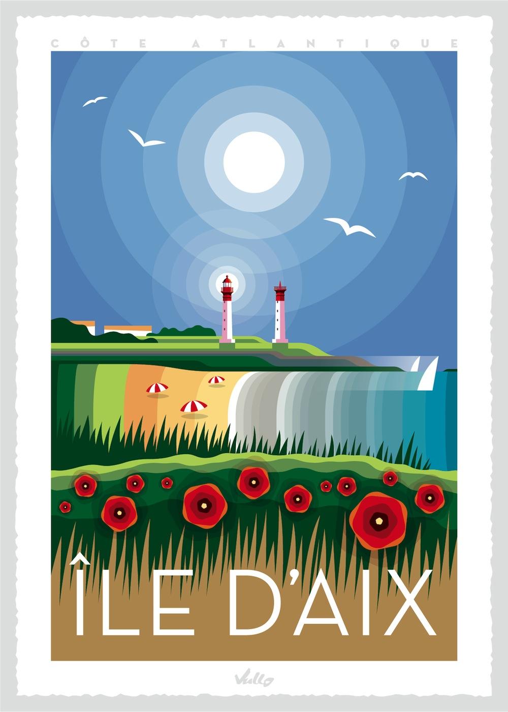Île d'AIx poster