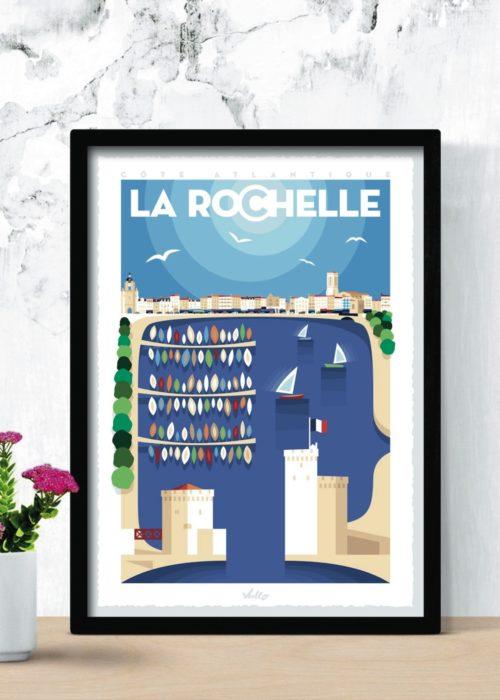 Affiche La Rochelle 3 en situation